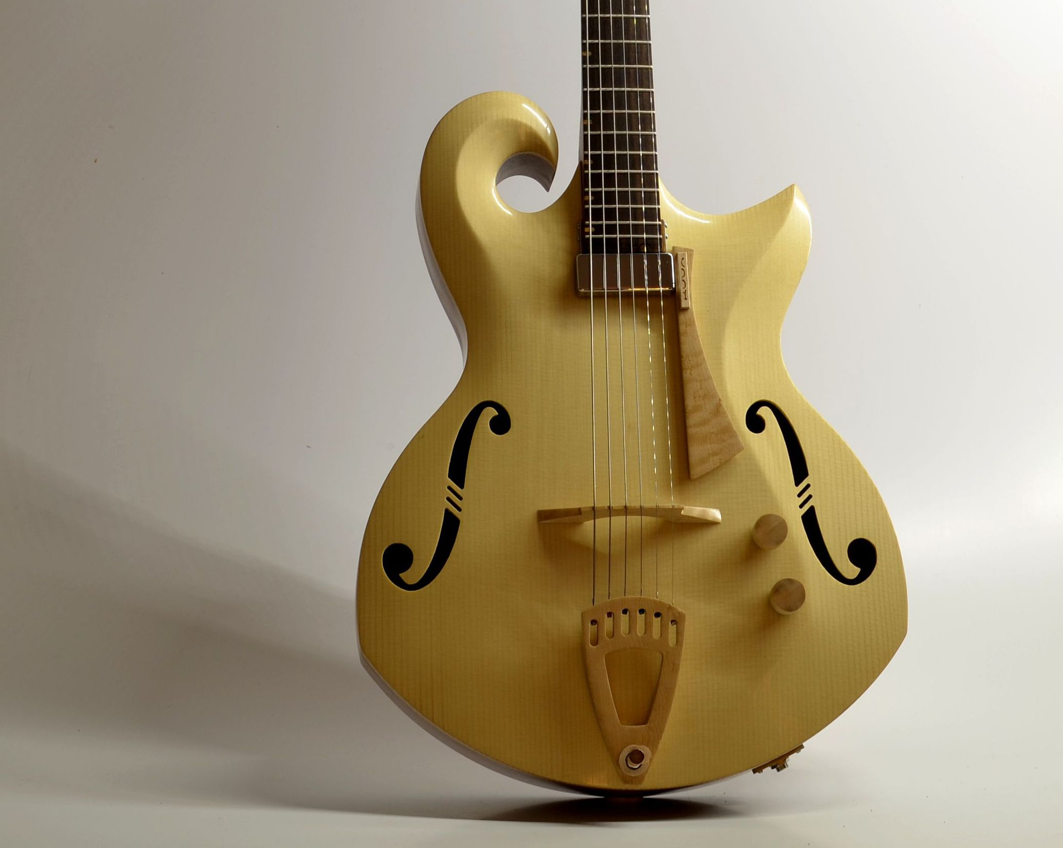 archtop opus 3  in spruce and kiaat  from around US$8250