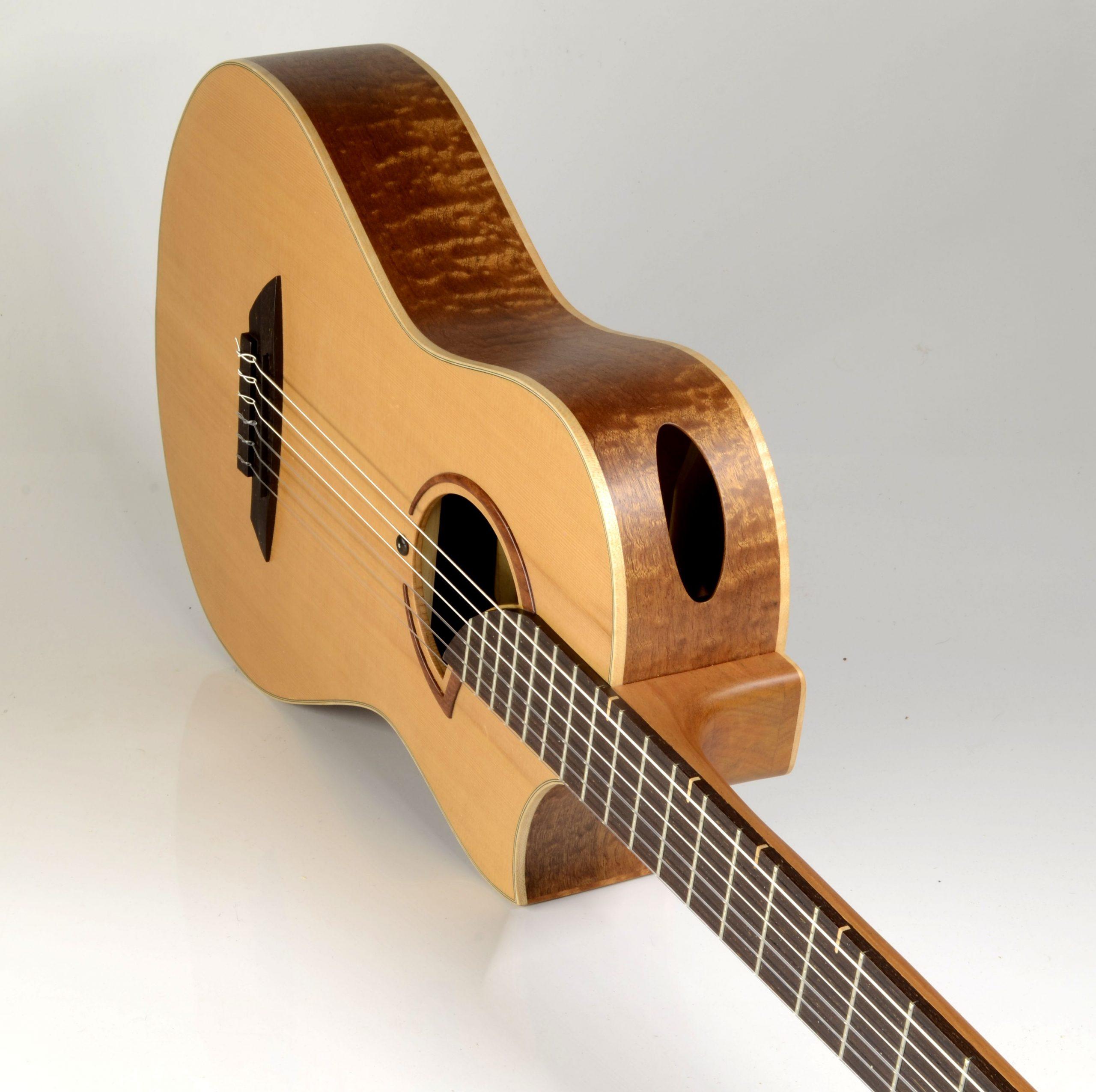 Ele classic in cedar and quilted sapele.. Kuun lattice soundboard. around US$5250